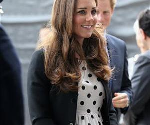 This is a Friday, April 26, 2013 file photo of Kate, the Duchess of Cambridge.