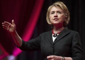 Hillary Rodham Clinton addresses the 51st Delta Sigma Theta National Convention in Washington, Tuesday, July 16, 2013.