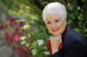 In this Monday, July 15, 2013 photo, actress Shirley Jones poses for a portrait at her home in Los Angeles.