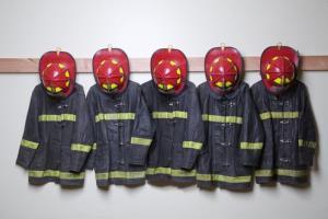 An aspiring firefighter admitted setting a $500,000 fire.