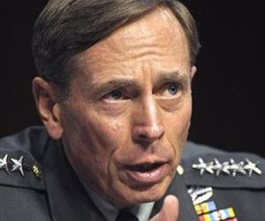 In this June 23, 2011 file photo, CIA Director nominee Gen. David Petraeus testifies on Capitol Hill.