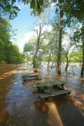 Different flooding in North Carolina, which occurred earlier in the month.