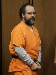 Ariel Castro enters the courtroom Friday, July 26, 2013, in Cleveland.