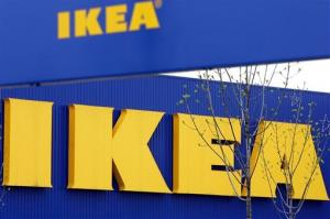 In this April 27, 2006 file photo, an exterior view of the Ikea furniture store in Duisburg, western Germany.