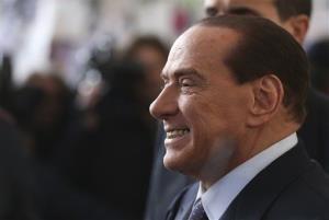A file photo of Silvio Berlusconi.