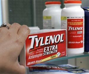 Acetaminophen is the active ingredient in Tylenol-brand painkillers.