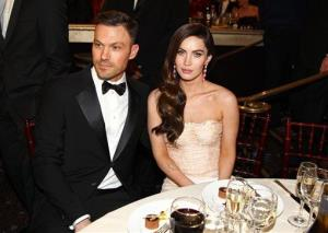 Actors Brian Austin Green, left, and Megan Fox attend the 70th Annual Golden Globe Awards at the Beverly Hilton Hotel on Sunday Jan. 13, 2013, in Beverly Hills, Calif.