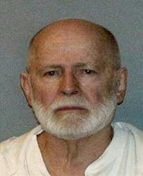 This undated file booking photo, obtained by WBUR 90.9 shows Boston mob boss James Whitey Bulger.