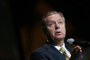 Sen. Lindsey Graham speaks in Washington, Tuesday, July 23, 2013. Graham today applauded the State Department decision to shutter embassies over an al-Qaeda threat.