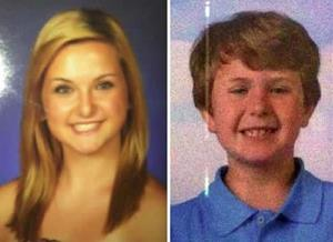 Hannah and Ethan Anderson are missing.