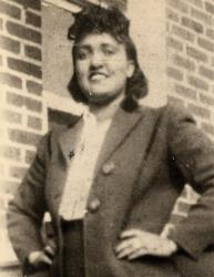 This 1940s photo made available by the family shows Henrietta Lacks.