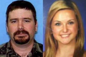 This combination of photos provided by the San Diego Sheriff's Department shows James Lee DiMaggio, 40, left, and Hannah Anderson, 16.