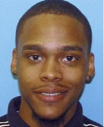 Malcolm Crowell, 22, who is sought after two people were found dead and a 2-year-old child missing from a Johnston, Rhode lsland, apartment.
