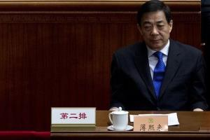 In this March 13, 2012 photo, then Chongqing Communist Party Secretary Bo Xilai attends the Chinese People's Political Consultative Conference held at Beijing's Great Hall of the People in China.