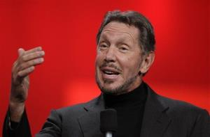 Oracle CEO Larry Ellison in a file photo.