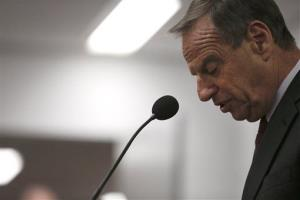 San Diego Mayor Bob Filner speaks during a news conference at city hall Friday, July 26, 2013, in San Diego.