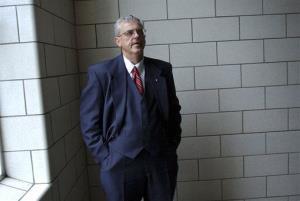 A 2004 photo of Mingo County Circuit Court Judge Michael Thornsbury.