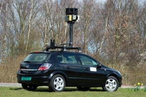 File photo of a Google Street View car.