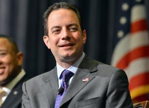 RNC chief Reince Priebus during the Republican National Committee summer meeting in Boston.