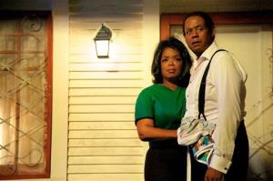 Oprah Winfrey as Gloria Gaines and Forest Whitaker as Cecil Gaines in a scene from Lee Daniels' The Butler.