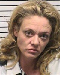 This photo provided by Iredell County, NC, sheriff's department, Lisa Robin Kelly is shown.