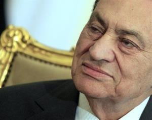 A 2011 file photo of Hosni Mubarak.