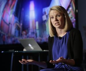 Yahoo CEO Marissa Mayer.