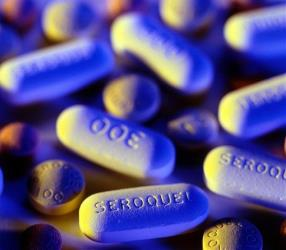Seroquel tablets.