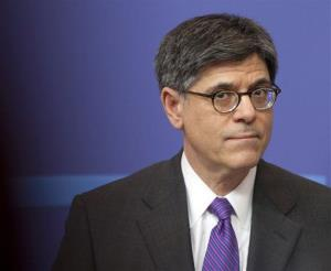 US Treasury Secretary Jacob Lew.