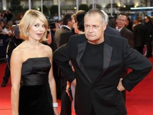 Emilie Dequenne and Jean-Pierre Jeunet arrive for the screening of the movie Me and Orson Welles at the 35th American Film Festival, Sunday, Sept. 6, 2009, in Deauville, Normandy, France.