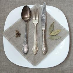 File photo of antique silverware.