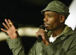 Comedian Dave Chappelle is shown in this 2004 file photo.