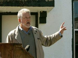 Mike McCarthy recalls his time spent as an inmate at the Arthur G. Dozier reform school in Marianna, Florida, during ceremonies dedicating a memorial to the suffering of the boys in 2008.