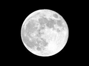 The moon's 'horizon glow' intrigues scientists.