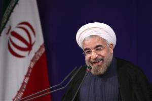 Iran President Hasan Rouhani.
