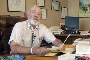 In this photo from Aug. 28, Montana District Judge G. Todd Baugh reads a statement apologizing for remarks he made about a 14-year-old girl raped by a teacher in Billings, Mont.
