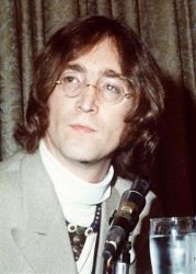 John Lennon in an undated file photo.
