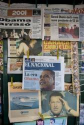 A front page of Venezuelan newspaper El Nacional.