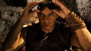 This film image released by Universal Pictures shows Vin Diesel in a scene from Riddick.