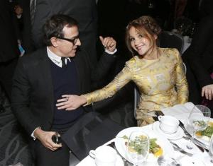 David O. Russell guided Jennifer Lawrence to her Best Actress Oscar win for Silver Linings Playbook, and next up they're working on American Hustle together.