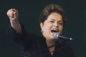 Brazil President Dilma Rousseff in a file photo.