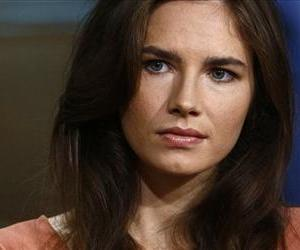 This image released by NBC shows Amanda Knox during an interview on the 'Today Show' Friday.