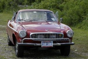 Irv Gordon's Volvo P1800 in Babylon, NY, Monday, July 2, 2012.