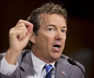 Rand Paul speaks on Capitol Hill in this file photo.