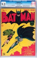 Gotham will go earlier than this Batman No. 1 comic.