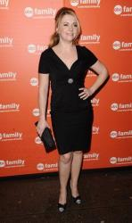 Actress Melissa Joan Hart attends the ABC Family Upfront in New York on Thursday, March 10, 2011.