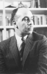 This 1964 file photo shows Ralph Ellison, author of the widely acclaimed The Invisible Man.