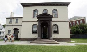 The Touro Synagogue in Newport, RI is the oldest existing Jewish house of worship in the United States.