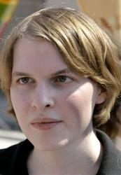 This June 19, 2006 file photo shows Ronan Farrow during a visit to Berlin.