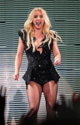 Britney Spears performs in Kiev, Ukraine, on Sept. 27, 2011.
